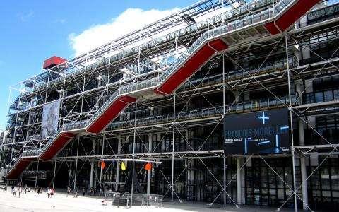 Exposition David Hockney - Centre Pompidou